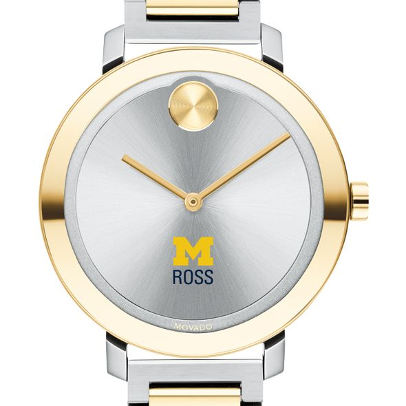 Ross School of Business Women's Movado Two-Tone Bold 34 - Image 1