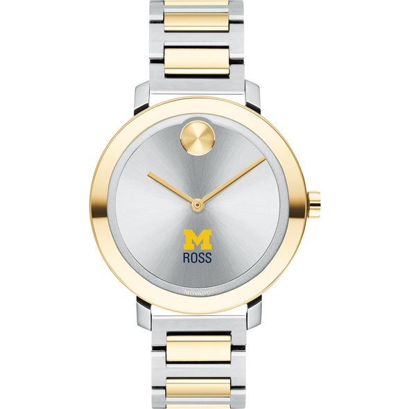 Ross School of Business Women's Movado Two-Tone Bold 34 - Image 2
