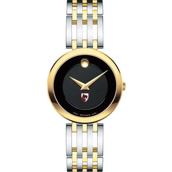 Carnegie Mellon University Women's Movado Esparanza Two-Tone Museum with Bracelet - Image 2