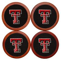 Texas Tech Needlepoint Coasters