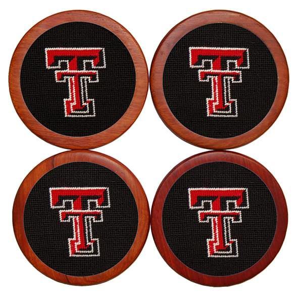 Texas Tech Needlepoint Coasters