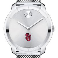 St. John's University Men's Movado Stainless Bold 44