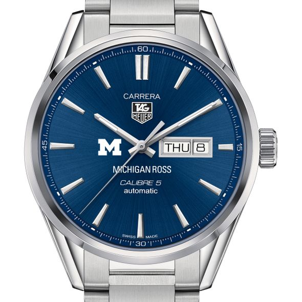 Michigan Ross Men's TAG Heuer Carrera with Day-Date - Image 1