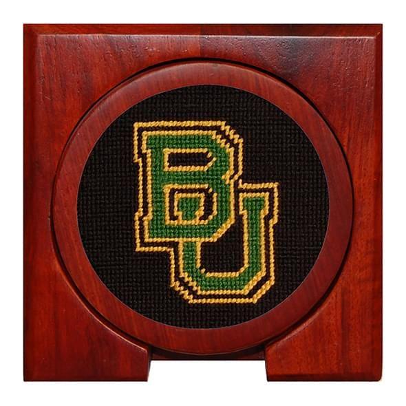 Baylor Needlepoint Coasters - Image 2