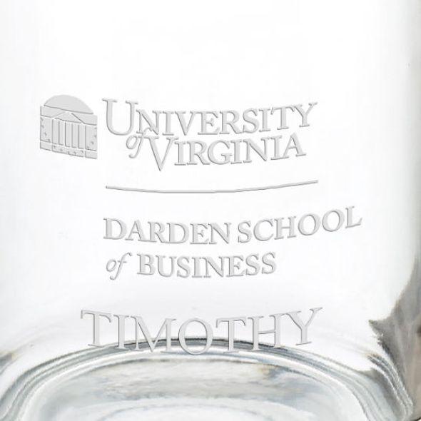 Darden School of Business 13 oz Glass Coffee Mug - Image 3