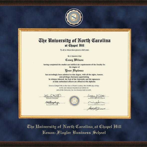 UNC Kenan-Flagler Diploma Frame - Excelsior - Image 2