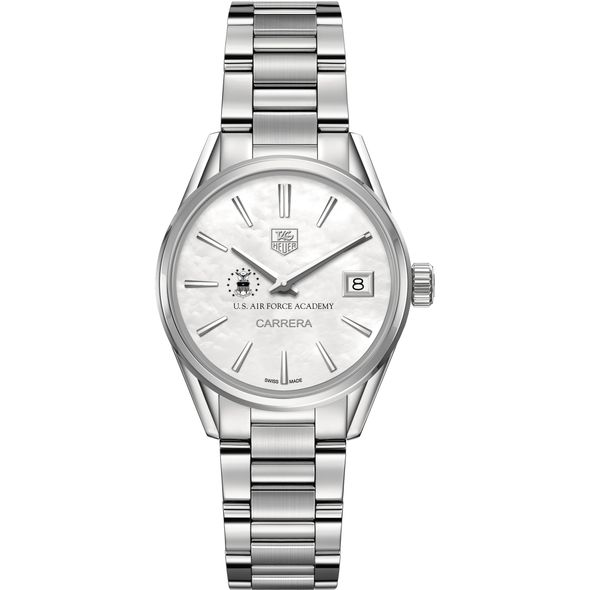 US Air Force Academy Women's TAG Heuer Steel Carrera with MOP Dial - Image 2