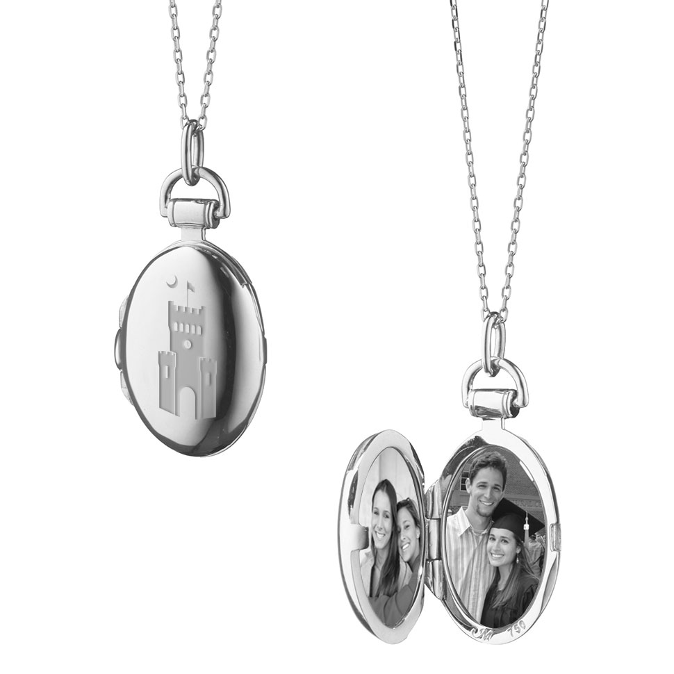 Citadel Monica Rich Kosann Petite Locket in Silver