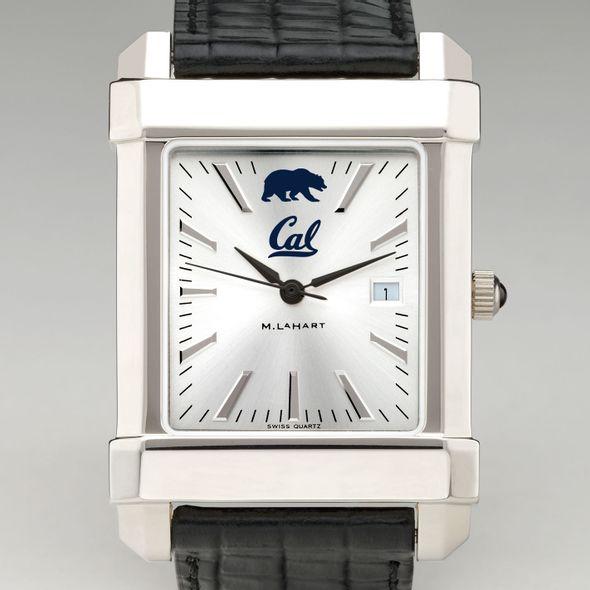 Berkeley Men's Collegiate Watch with Leather Strap - Image 1