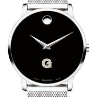 Georgetown University Men's Movado Museum with Mesh Bracelet