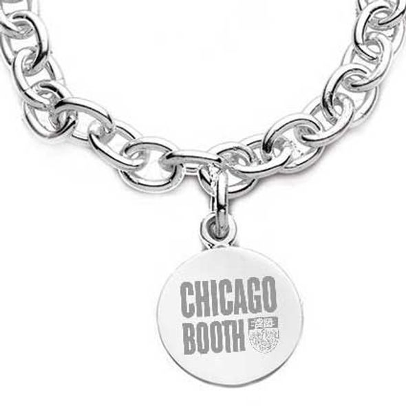 Chicago Booth Sterling Silver Charm Bracelet - Image 2