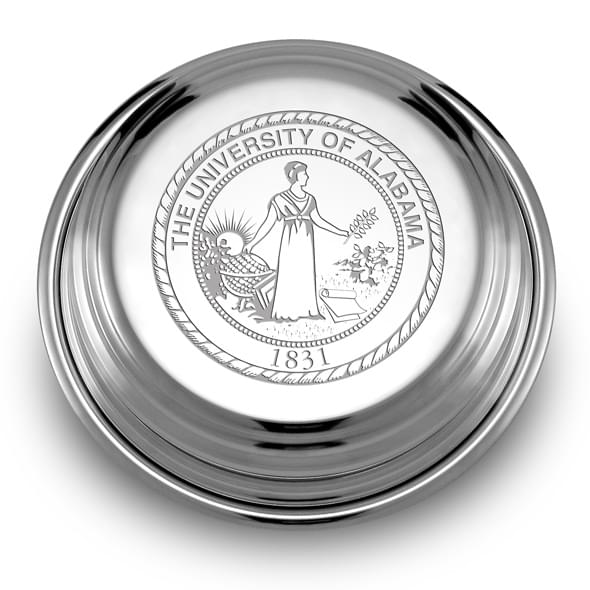 Alabama Pewter Paperweight - Image 2