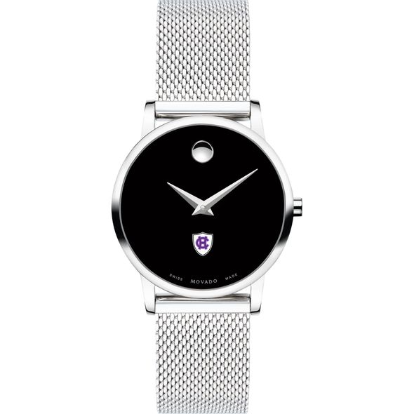 Holy Cross Women's Movado Museum with Mesh Bracelet - Image 2