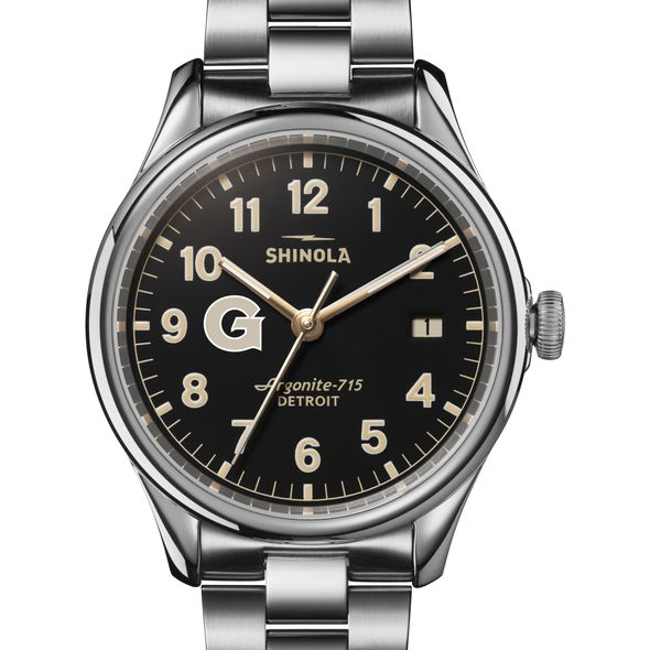 Georgetown Shinola Watch, The Vinton 38mm Black Dial