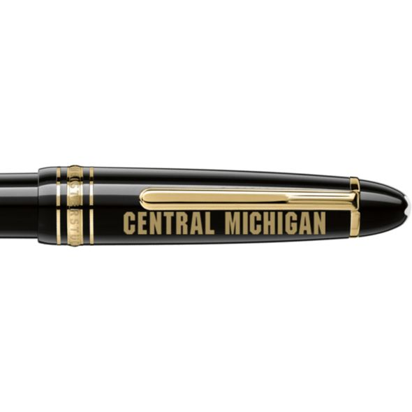 Central Michigan Montblanc Meisterstück LeGrand Ballpoint Pen in Gold - Image 2