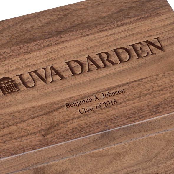UVA Darden Solid Walnut Desk Box - Image 3
