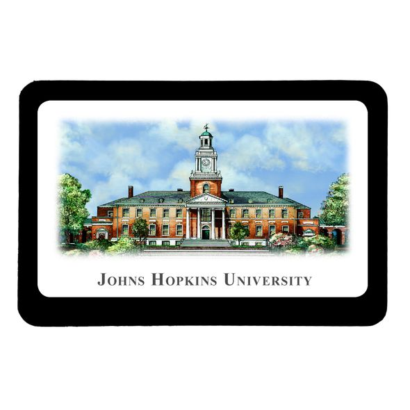 Johns Hopkins Eglomise Paperweight