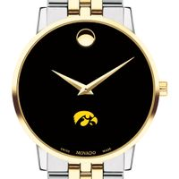 Iowa Men's Movado Two-Tone Museum Classic Bracelet