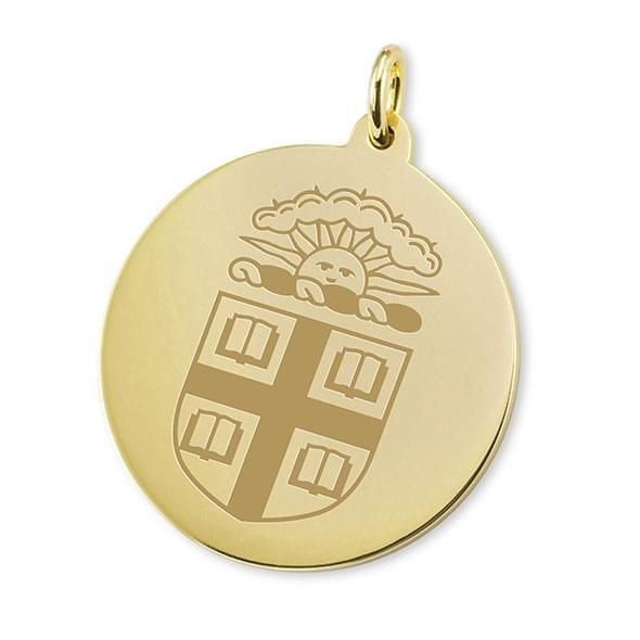 Brown 14K Gold Charm - Image 1