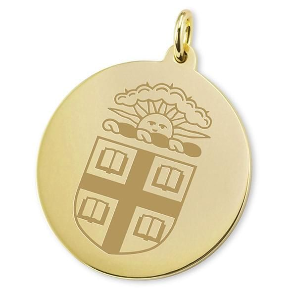Brown 14K Gold Charm - Image 2