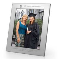 Yale SOM Polished Pewter 8x10 Picture Frame