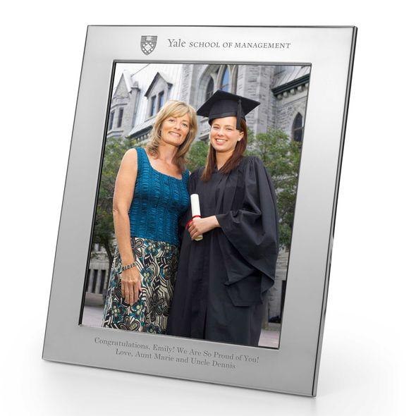 Yale SOM Polished Pewter 8x10 Picture Frame - Image 1