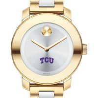 Texas Christian University Women's Movado Two-Tone Bold