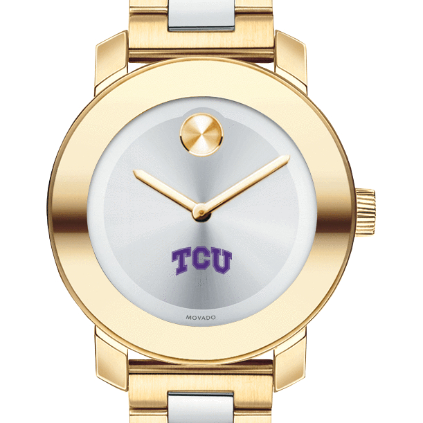 TCU Women's Movado Two-Tone Bold