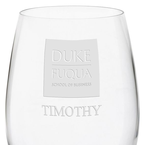 Duke Fuqua Red Wine Glasses - Set of 4 - Image 3