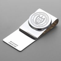 Georgia Tech Sterling Silver Money Clip