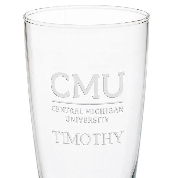 Central Michigan 20oz Pilsner Glasses - Set of 2 - Image 3
