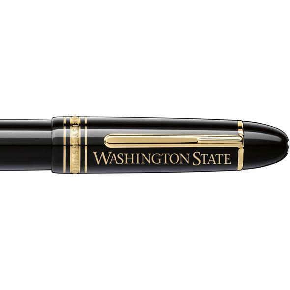 Washington State University Montblanc Meisterstück 149 Fountain Pen in Gold - Image 2