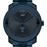 Yale University Men's Movado BOLD Blue Ion with Bracelet
