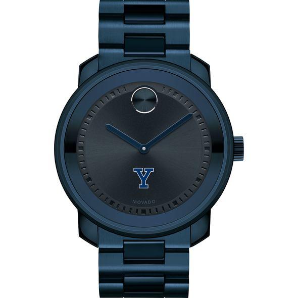 Yale University Men's Movado BOLD Blue Ion with Bracelet - Image 2