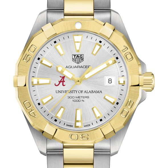 University of Alabama Men's TAG Heuer Two-Tone Aquaracer