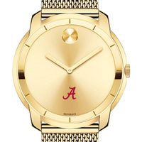 University of Alabama Men's Movado Gold Bold 44