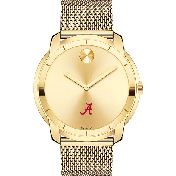 University of Alabama Men's Movado Gold Bold 44 - Image 2