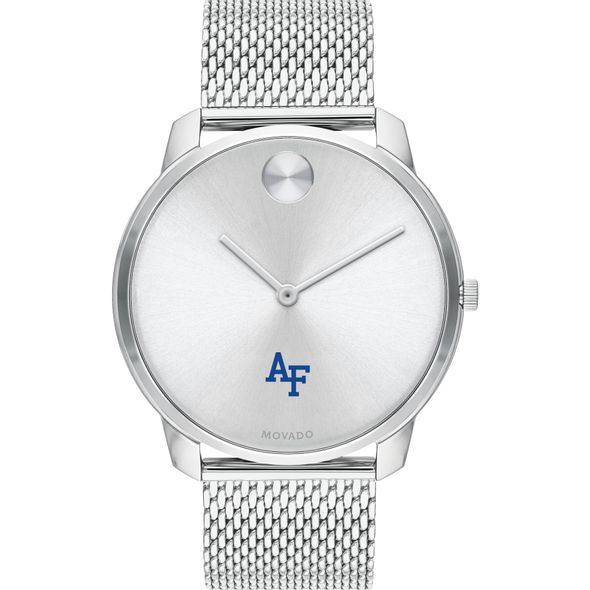 US Air Force Academy Men's Movado Stainless Bold 42 - Image 2
