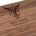 Ball State Solid Walnut Desk Box - Image 2