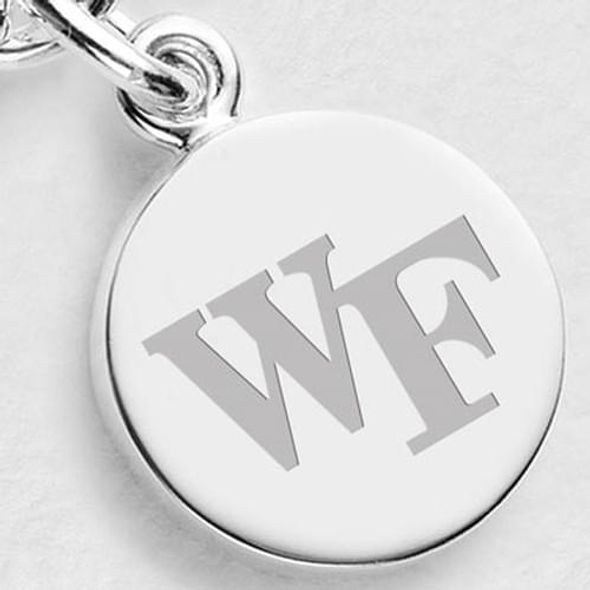 Wake Forest Sterling Silver Charm