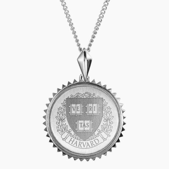 Harvard Sterling Silver Sunburst Necklace by Kyle Cavan