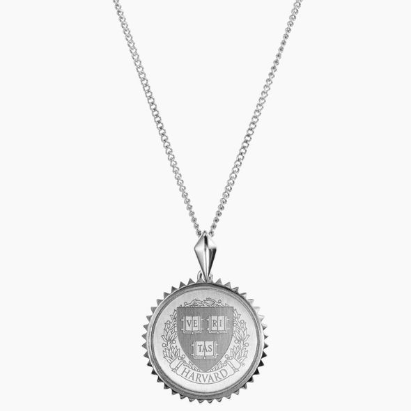 Harvard Sterling Silver Sunburst Necklace by Kyle Cavan - Image 2