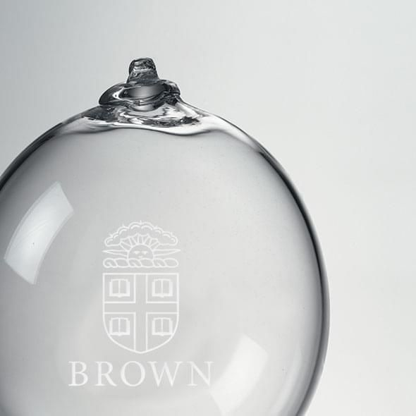 Brown Glass Ornament by Simon Pearce - Image 2