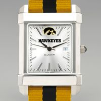 University of Iowa Collegiate Watch with NATO Strap for Men