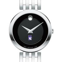Northwestern University Women's Movado Esparanza Stainless Steel Museum with Bracelet