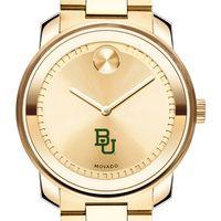 Baylor University Men's Movado Gold Bold