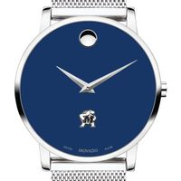 University of Maryland Men's Movado Museum with Blue Dial & Mesh Bracelet