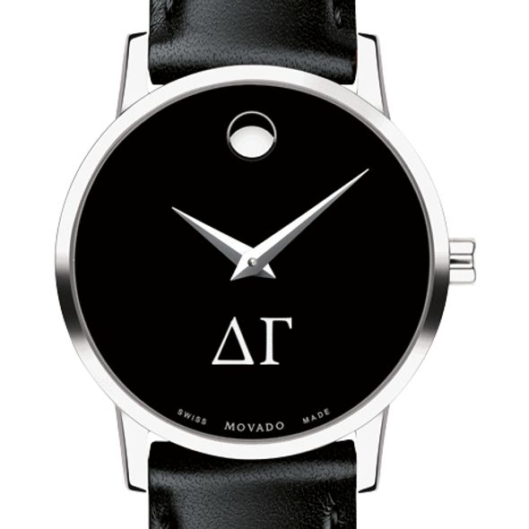 Delta Gamma Women's Movado Museum with Leather Strap - Image 1