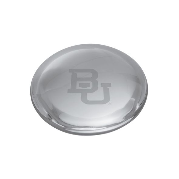 Baylor Glass Dome Paperweight by Simon Pearce