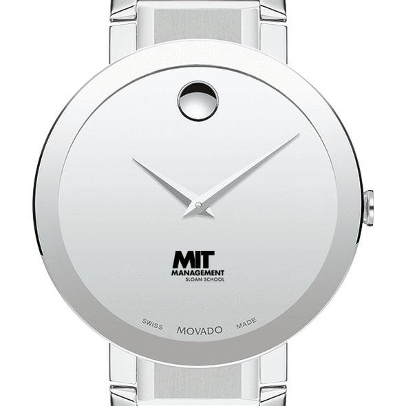 MIT Sloan Men's Movado Sapphire Museum with Bracelet - Image 1